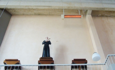 Impianti ad irraggiamento per edifici di culto